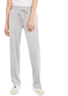 Calvin Klein Velour Wide-Leg Pants