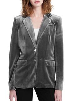 Calvin Klein Velvet Buttoned Jacket