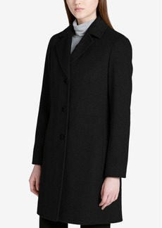 Calvin Klein Walker Wool-Cashmere Blend Coat