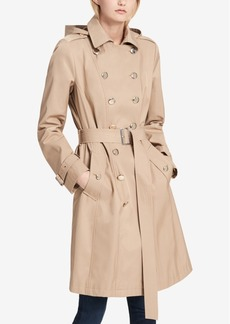 Calvin Klein Water-Resistant Trench Coat