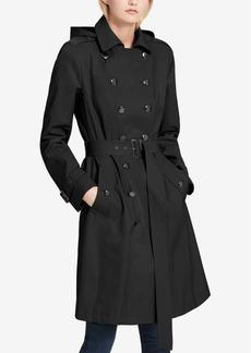 Calvin Klein Water-Resistant Trench Coat