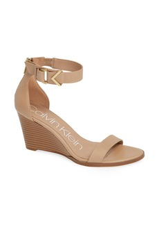 Calvin Klein Wilhelmina Wedge Sandal (Women)