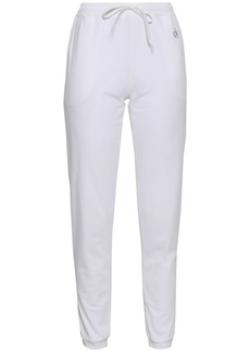 Calvin Klein Woman Cotton-jersey Track Pants White