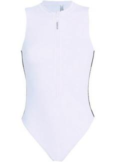 Calvin Klein Woman Printed Swimsuit White