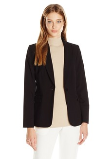Calvin Klein Women's 1 Button Jacket