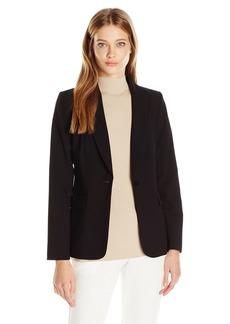 Calvin Klein Women's 1 Button Jacket