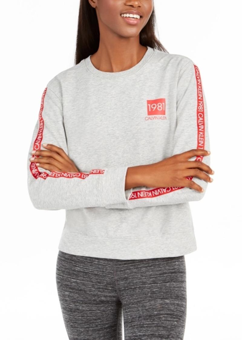 Calvin Klein Women's 1981 Bold Sleep Sweatshirt