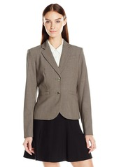 Calvin Klein Women's Two Button Lux Blazer (Standard & Petite Sizes)