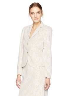 Calvin Klein Women's 2 Button Lace Jacket