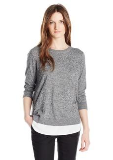 Calvin Klein Women's 2 Fer Pullover  S