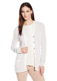 Calvin Klein Women's 2-Toned Cardigan