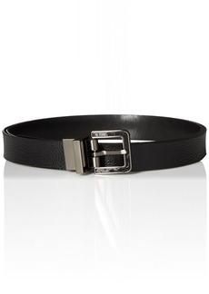 Calvin Klein Women's 25mm Reversible Pebble To Smooth Belt