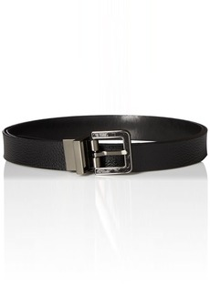 Calvin Klein Women's 25mm Reversible Pebble To Smooth Belt