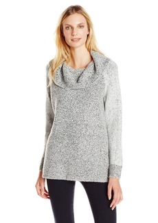 Calvin Klein Women's 2Tone Cowl Neck Sweater