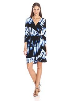 Calvin Klein Women's 3/4 Sleeve Dress W/ Hardware  XS