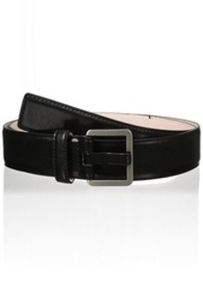 Calvin Klein Women's 35mm Feather Edge Belt with Powder Coated Prong