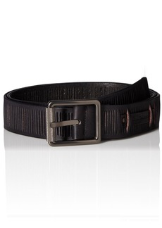 Calvin Klein Women's 38mm Leather Belt with Slits On Strap