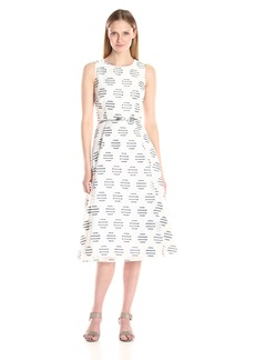 Calvin Klein Women's a-Line Midi Dress