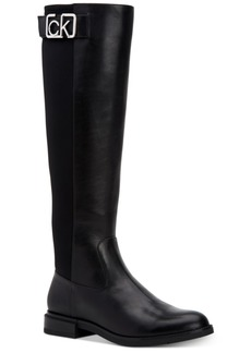 Calvin Klein Women's Ada Wide Calf Tall Boots Women's Shoes