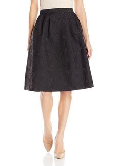 Calvin Klein Women's Aline Jacquard Skirt