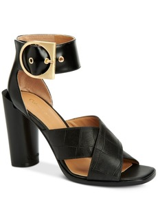 Calvin Klein Women's Alivia Ankle-Strap Sandals Women's Shoes