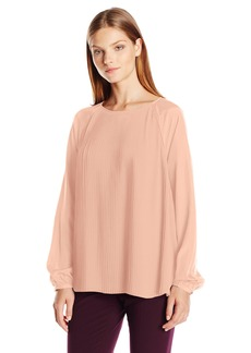 Calvin Klein Women's All Over Pleated Top