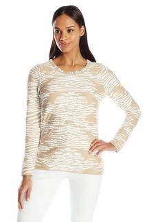 Calvin Klein Women's Animal Print Sweater