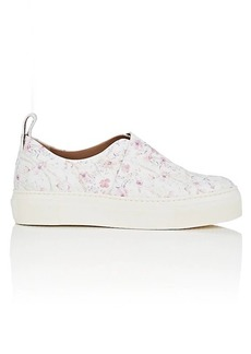 Calvin Klein Women's Ariel Leather Platform Sneakers