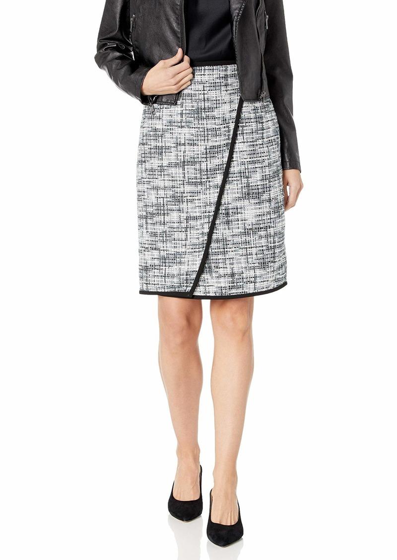 Calvin Klein Women's Assymetric Novelty Skirt