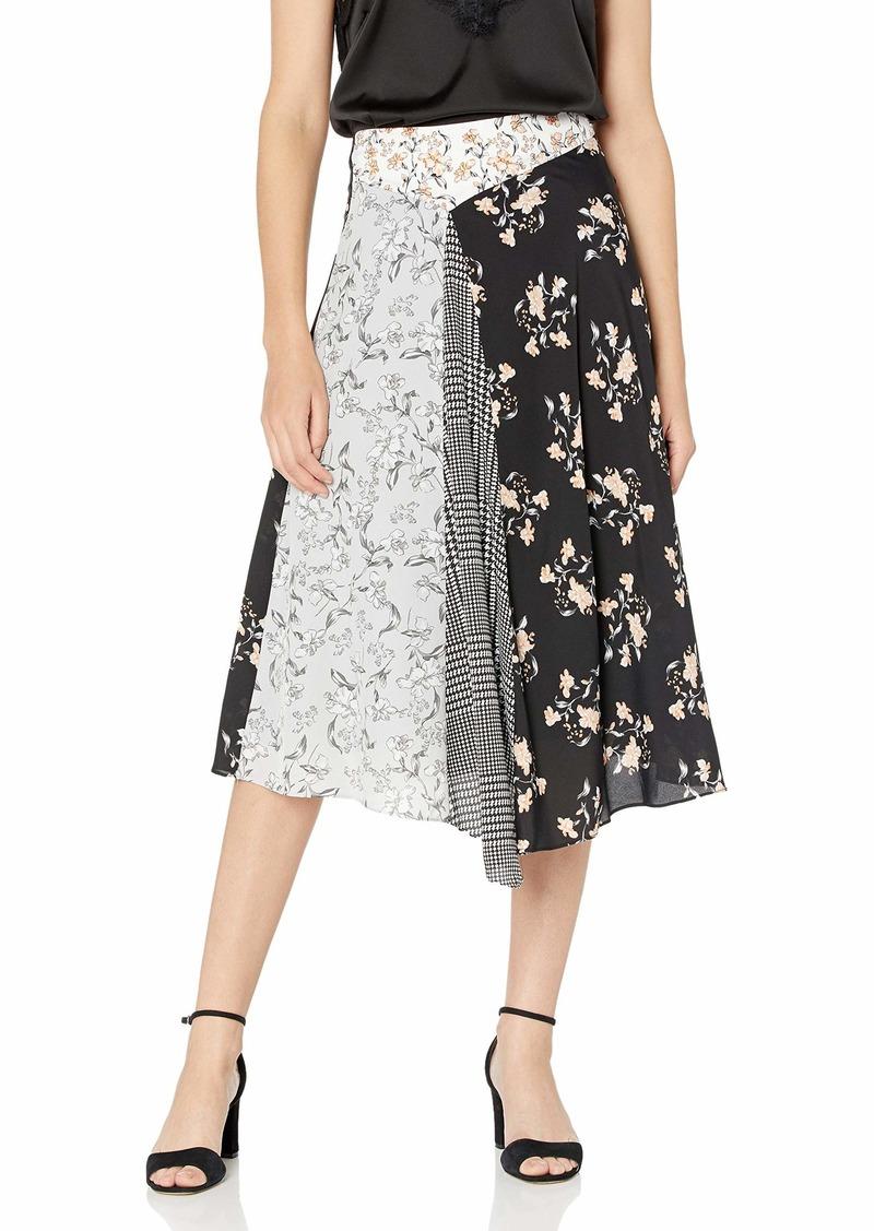 Calvin Klein Women's Asymmetrical MIDI Skirt