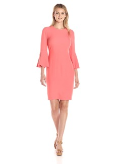 Calvin Klein Women's Bell Sleeve Dress