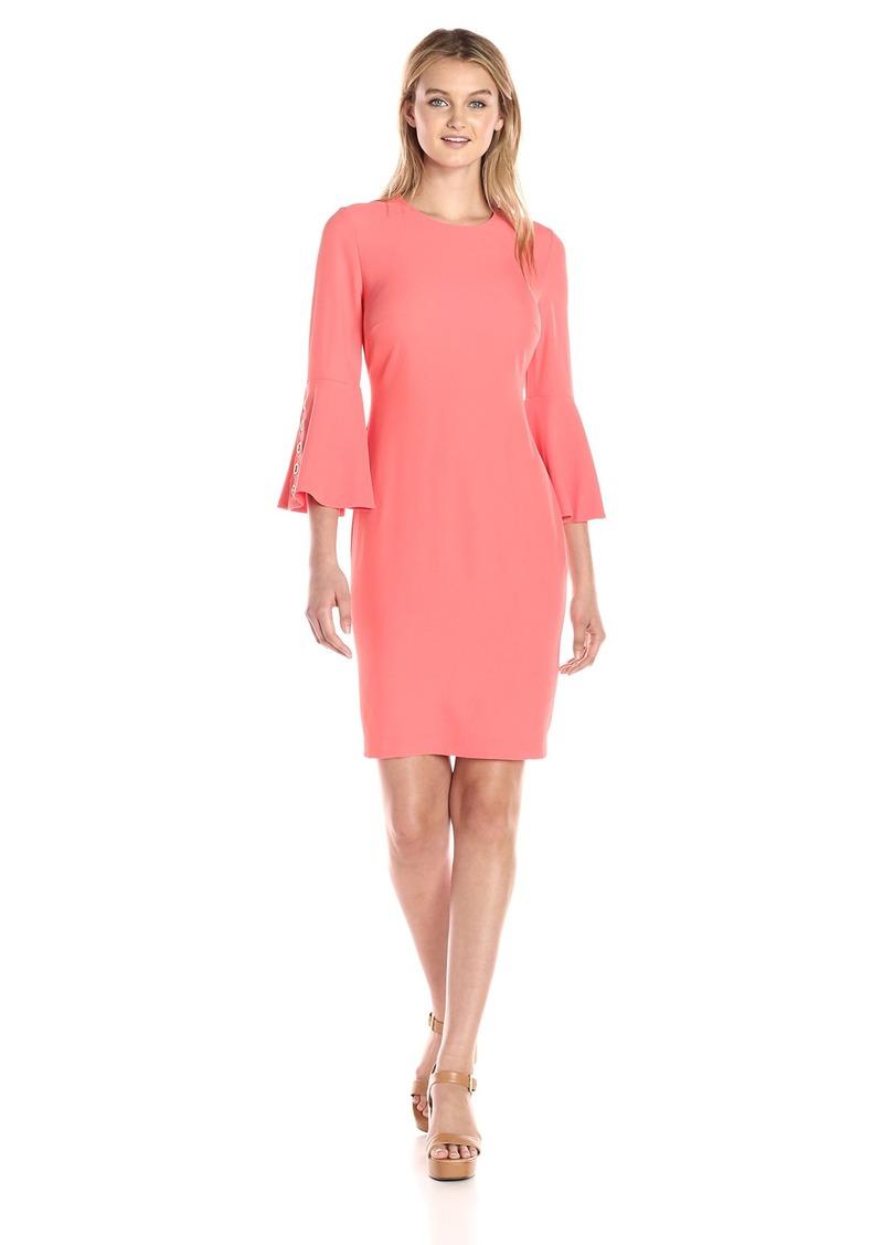 Calvin Klein Women's Bell Sleeve Dress