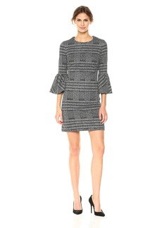 Calvin Klein Women's Bell Sleeve Shift Dress