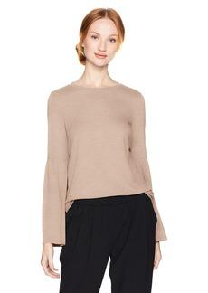 Calvin Klein Women's Bell Sleeve Top  L