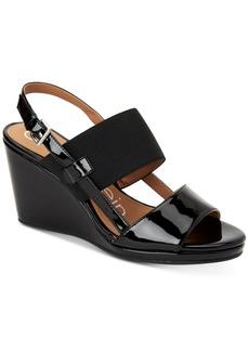 Calvin Klein Women's Bethan Wedge Sandals Women's Shoes