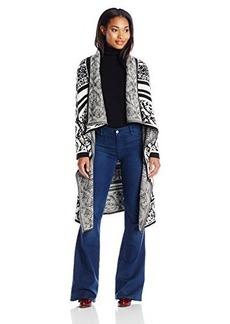 Calvin Klein Women's Birdseye Sweater Jacket