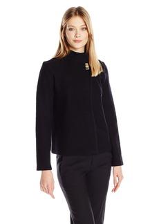 Calvin Klein Women's Boil Wool Jacket  XL