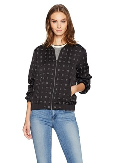 Calvin Klein Women's Bomber Jacket With Heat Set  S