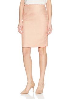Calvin Klein Women's Boucle Straight Skirt