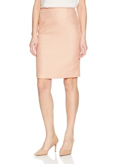 Calvin Klein Women's Boucle Straight Skirt