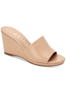 Calvin Klein Women's Britta Wedge Sandals, Created for Macy's Women's Shoes
