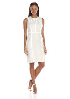 Calvin Klein Women's Brocade Sheath Dress