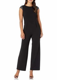 Calvin Klein Women's Cap Sleeve Jumpsuit