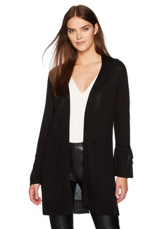Calvin Klein Women's Cardigan with Tie Sleeves  L
