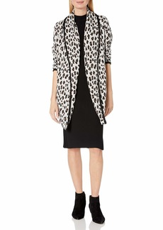 Calvin Klein Women's Cardigan with Tipping  L