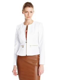 Calvin Klein Women's Career Cotton Jacket