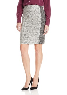 Calvin Klein Women's Career Jacquard Skirt