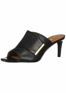 Calvin Klein Women's Carine Heeled Sandal   M US