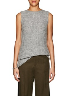 Calvin Klein Women's Cashmere-Blend Bateau Neck Tunic