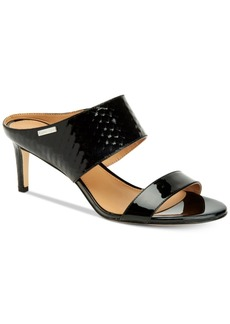 Calvin Klein Women's Cecily Wide-Strap Sandals Women's Shoes